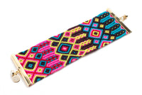 Extra Wide Friendship Bracelet Cuff (Pulsera)