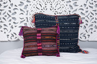 Cortes Huipil Pillow Cover Saffron