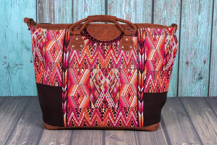 Huipil weekender bag XL carry on