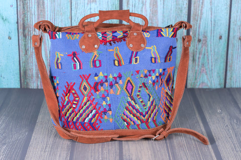Huipil Day Bag Purse Diaper Bag (medium) She soars
