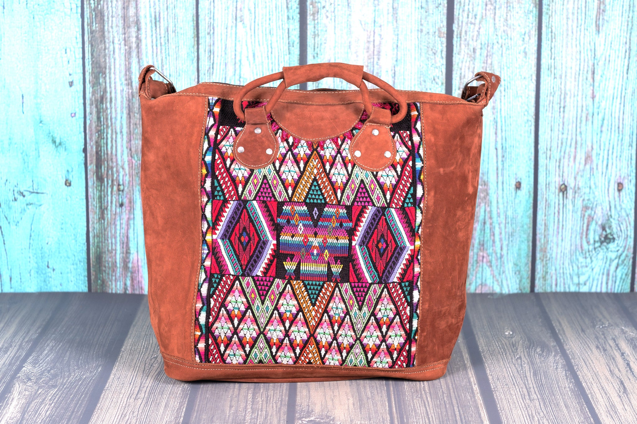 Huipil Overnighter Tote Bag Crossbody
