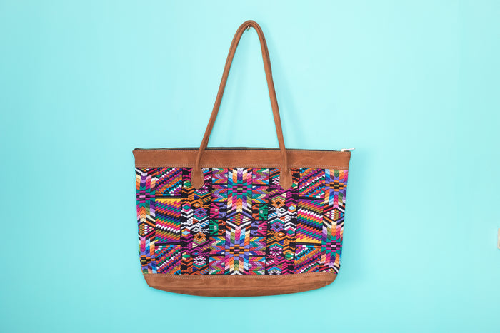 Huipil Tote Bag Horizontal 052