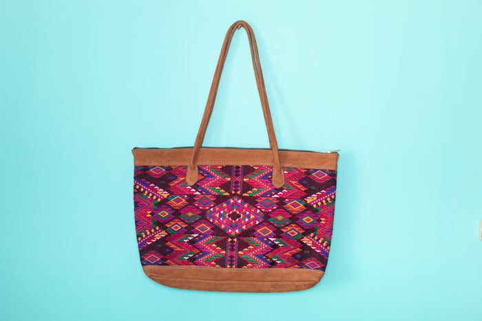 Huipil Tote Bag Horizontal 054