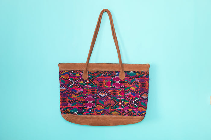 Huipil Tote Bag Horizontal 056