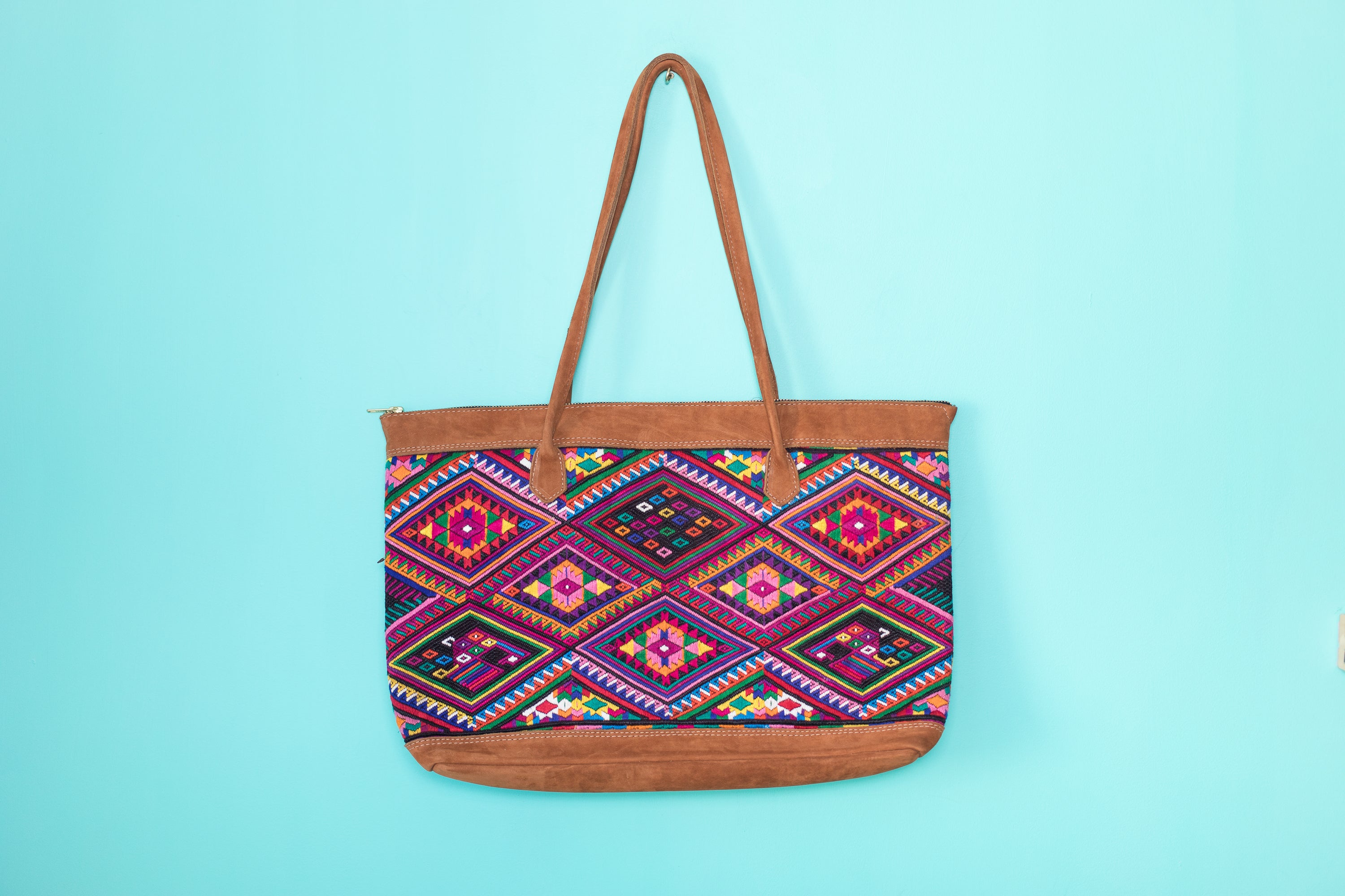 Huipil Tote Bag Horizontal 057