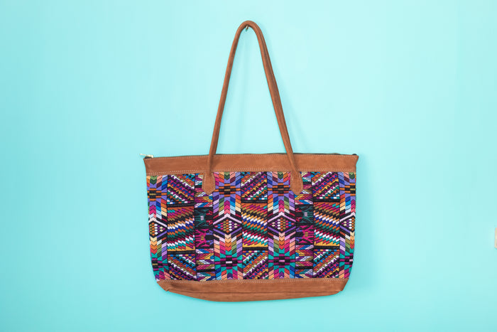 Huipil Tote Bag Horizontal 060