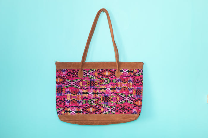 Huipil Tote Bag Horizontal 061