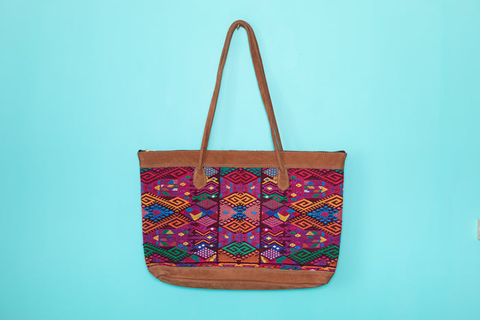 Huipil Tote Bag Horizontal 062