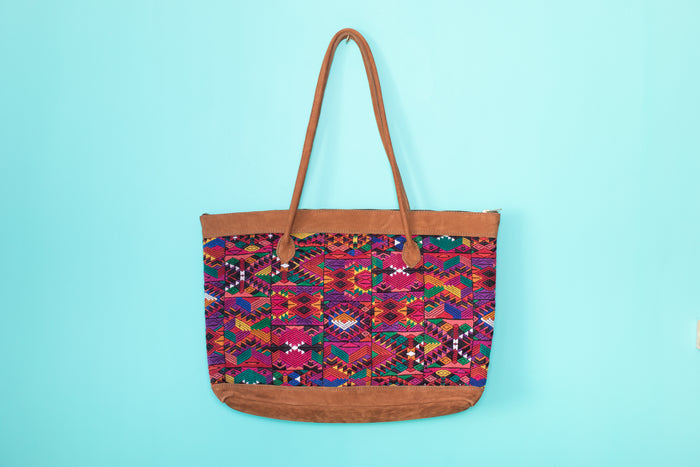 Huipil Tote Bag Horizontal 063