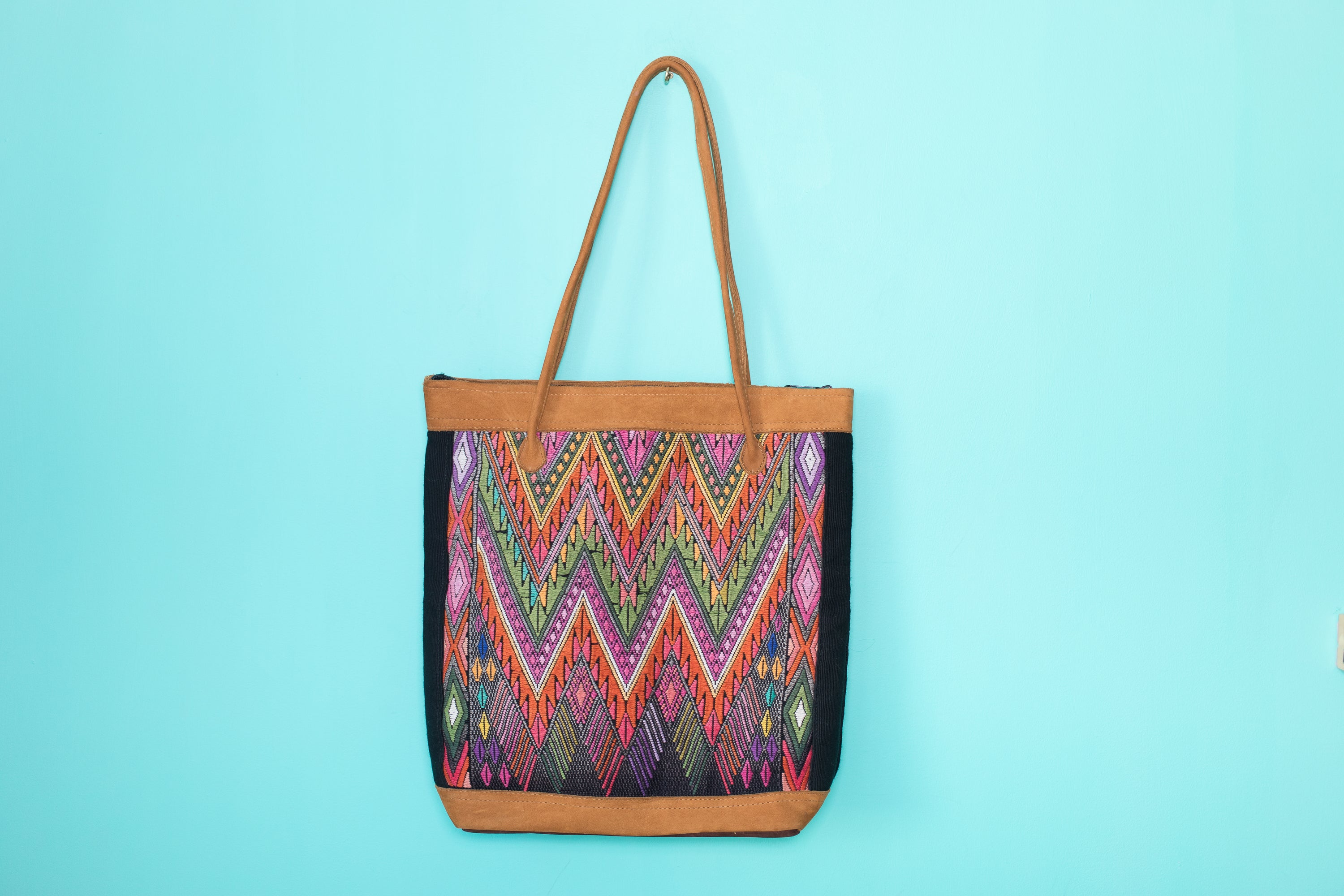 Huipil Tote Bag vertical 066