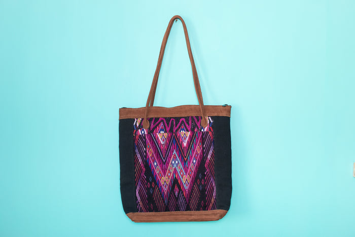 Huipil Tote Bag vertical 067