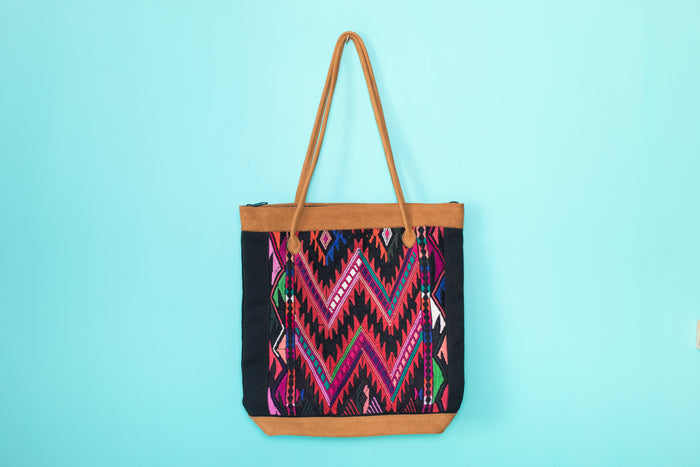 Huipil Tote Bag vertical 068