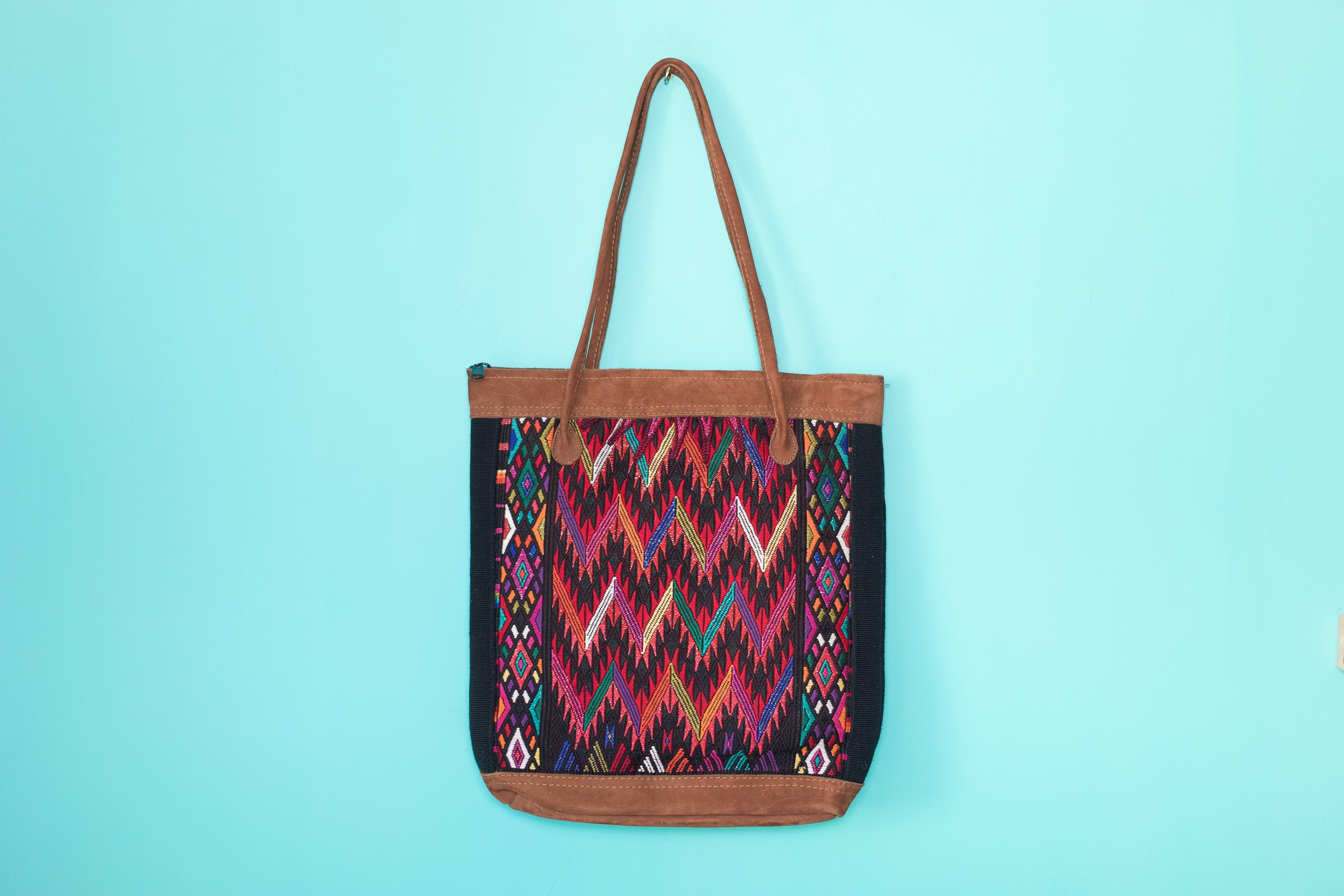 Huipil Tote Bag vertical 069
