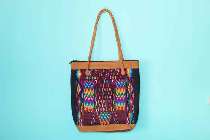 Huipil Tote Bag vertical 070