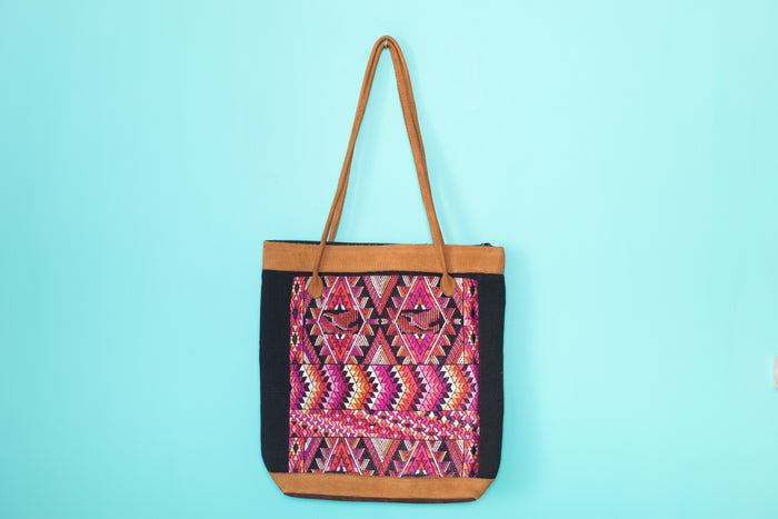 Huipil Tote Bag vertical 071