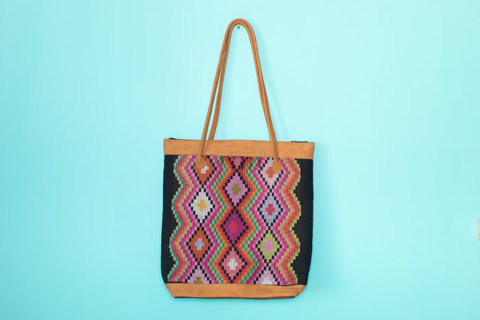 Huipil Tote Bag vertical 072
