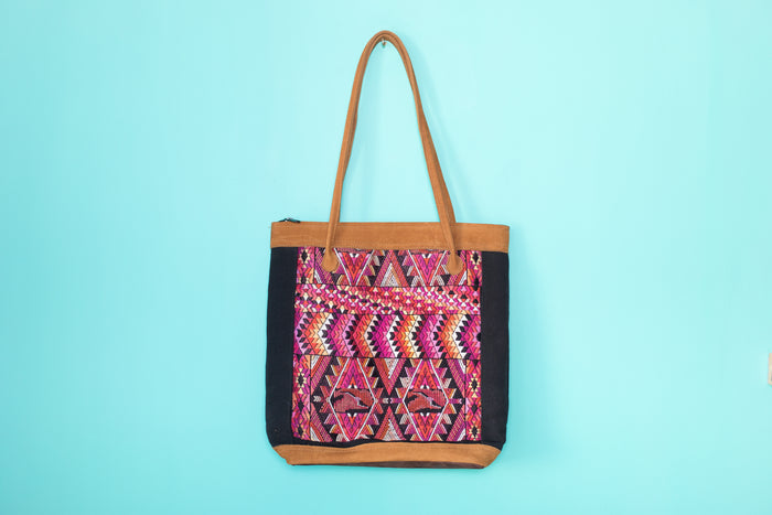 Huipil Tote Bag vertical 073