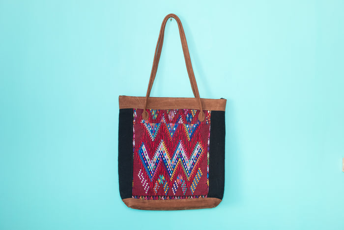 Huipil Tote Bag vertical 074