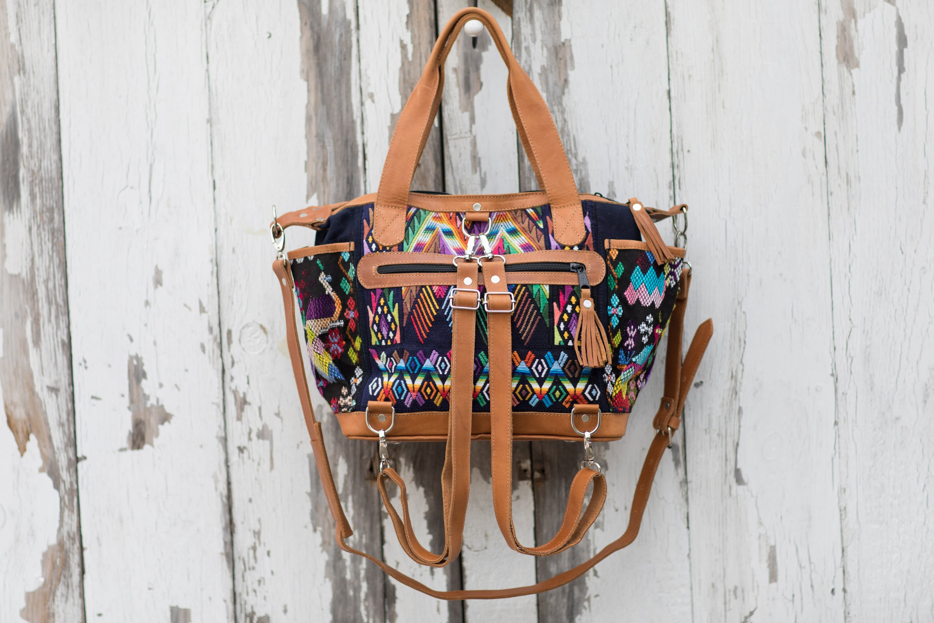 Huipil CDB back pack small Ixchel