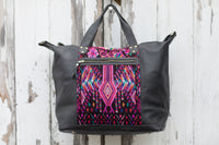 Huipil weekender bag XL carry on luggage