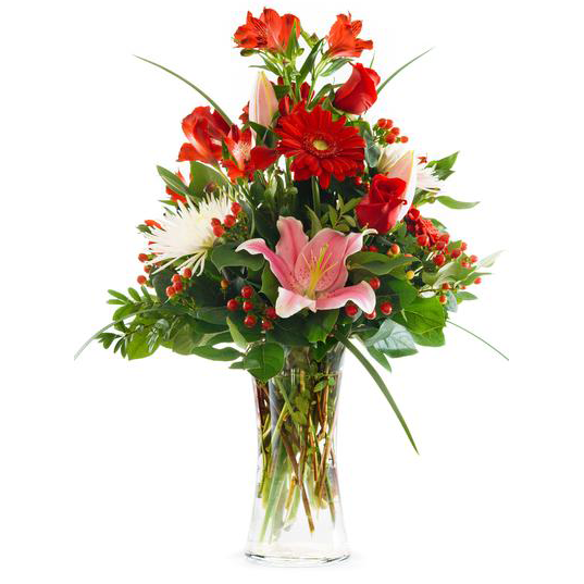 Tall Valentine's Day Arrangement