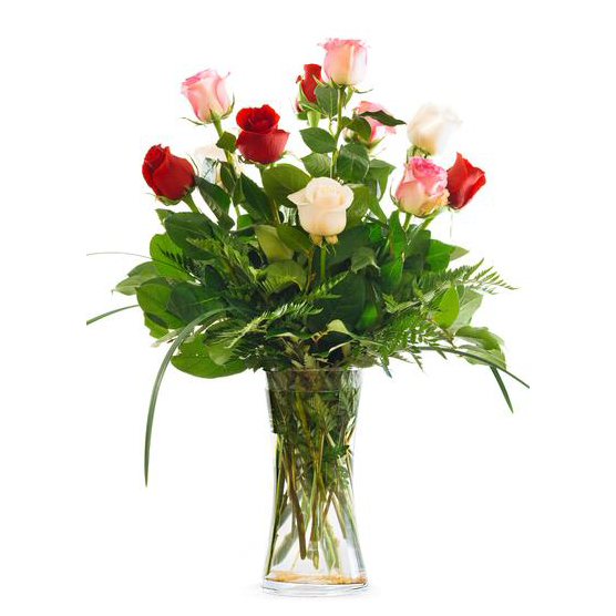 Valentine's Day Rose Arrangement
