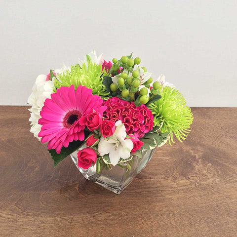 Compact Seasonal Arrangement