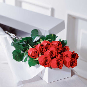 Long Stem Roses (Boxed)