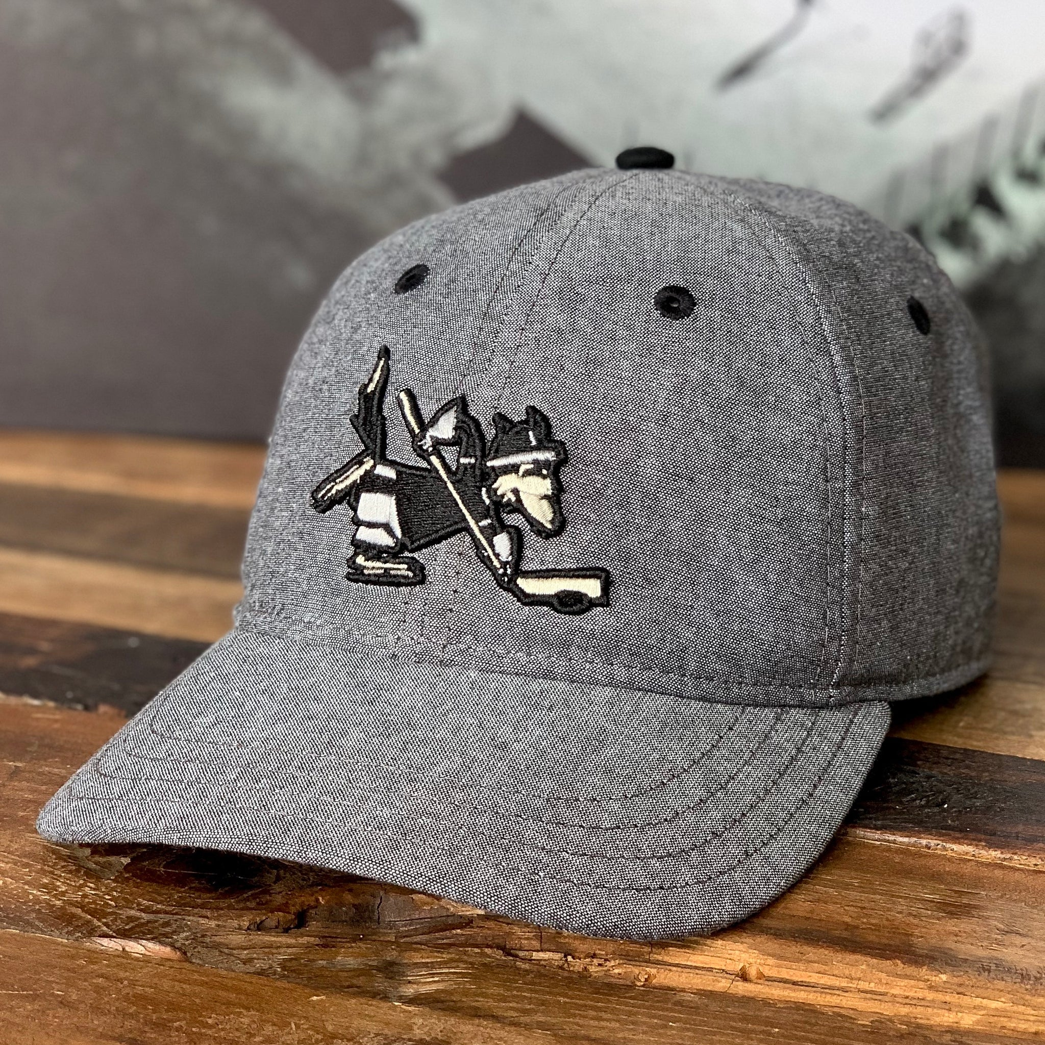Mascot (Blackout Chambray) - Beauty Status Hockey Co.