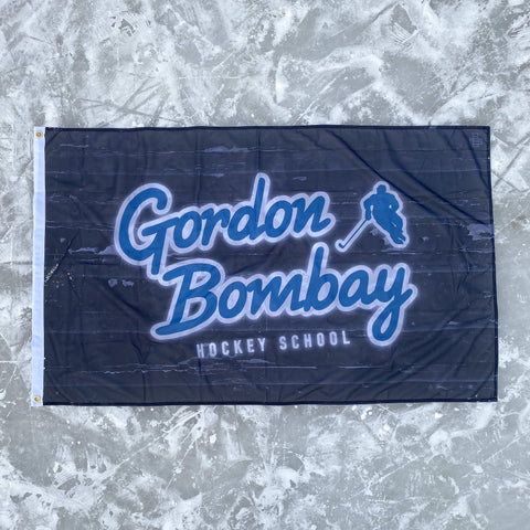 Gordon Bombay Hockey School Flag