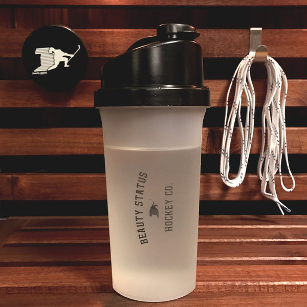 Pre-Game Shaker Bottle - Beauty Status Hockey Co.