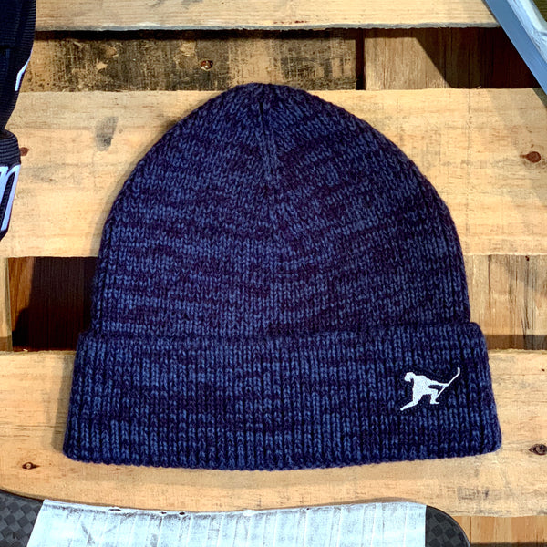 Team Issued Knit (Heather Navy) - Beauty Status Hockey Co.