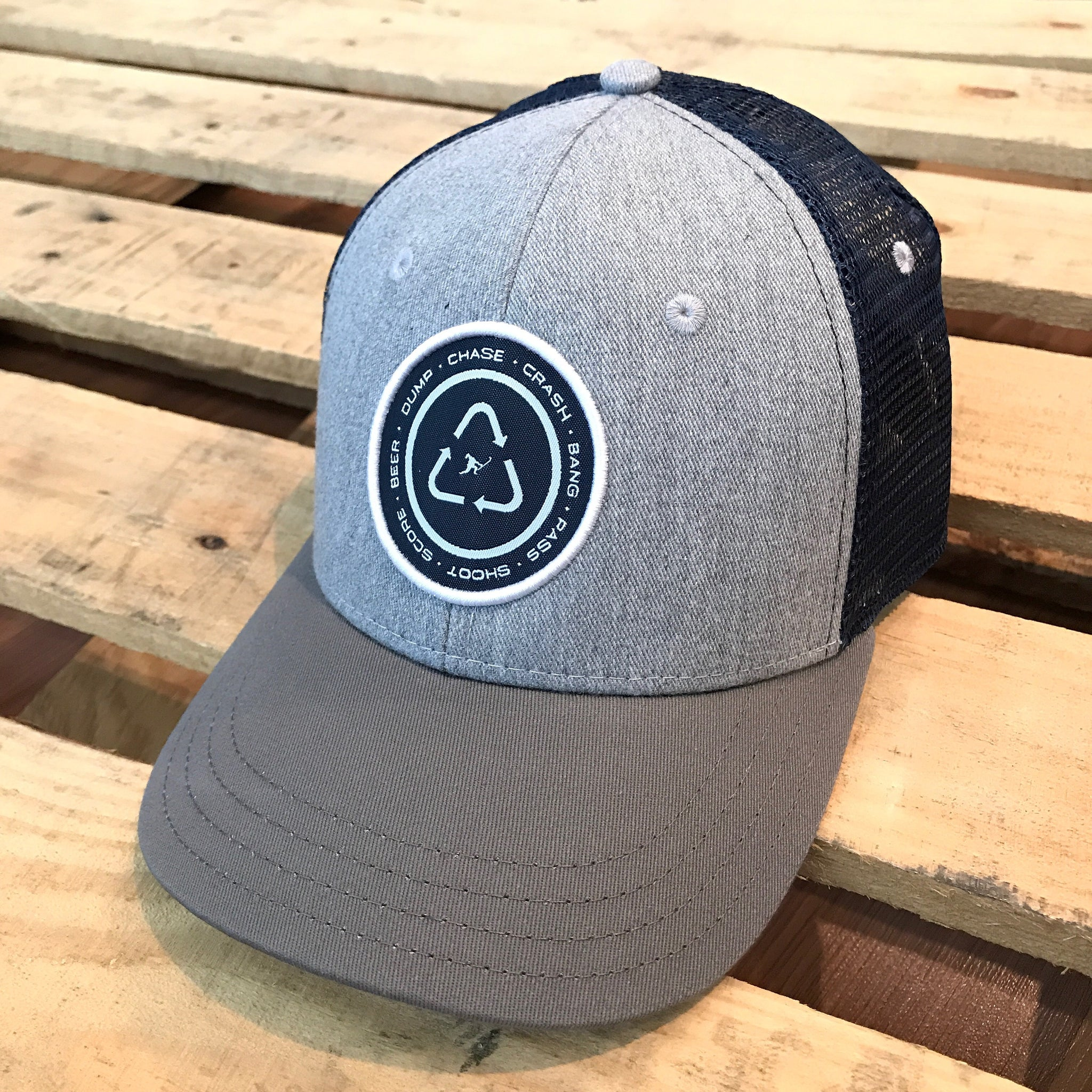The Cycle (Heather Grey/Charcoal/Navy) - Beauty Status Hockey Co.