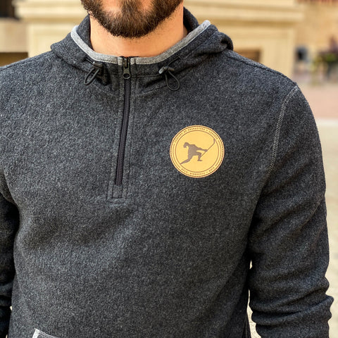 Characters + Legends *1/4 Zip Nordic Tri-Blend Fleece
