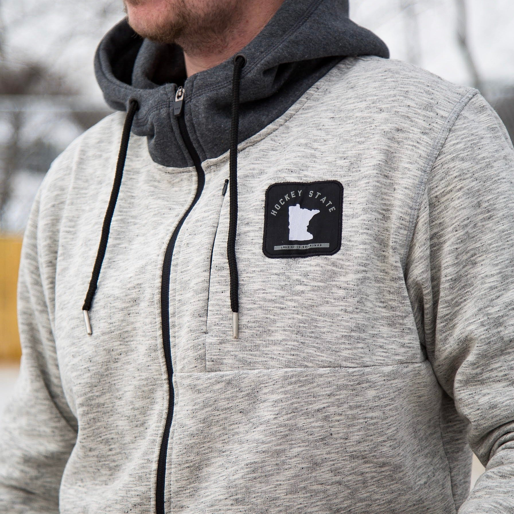Hockey State *Superior Fleece Hoodie - Beauty Status Hockey Co.