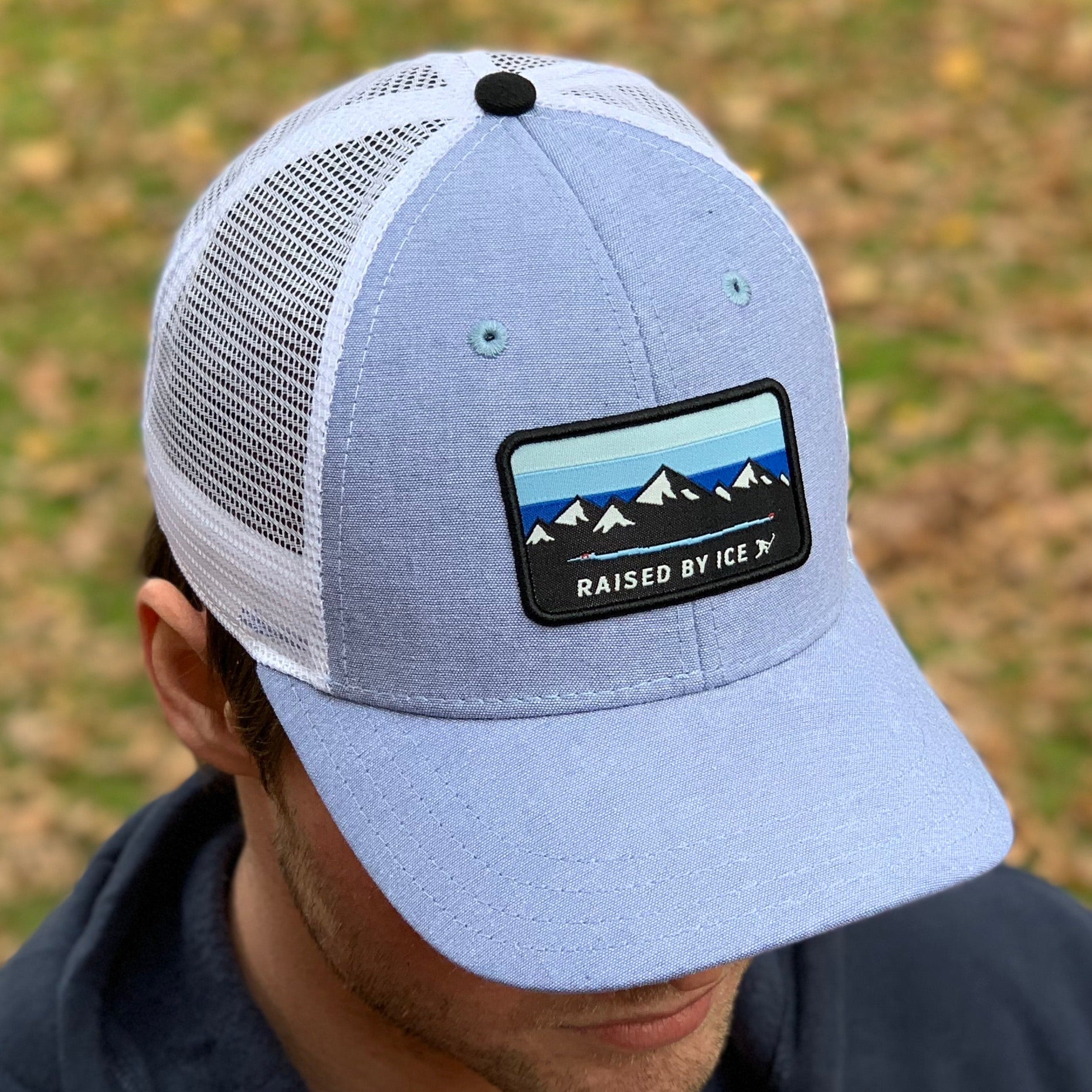 Pondagonia (Blueline Chambray) - Beauty Status Hockey Co.