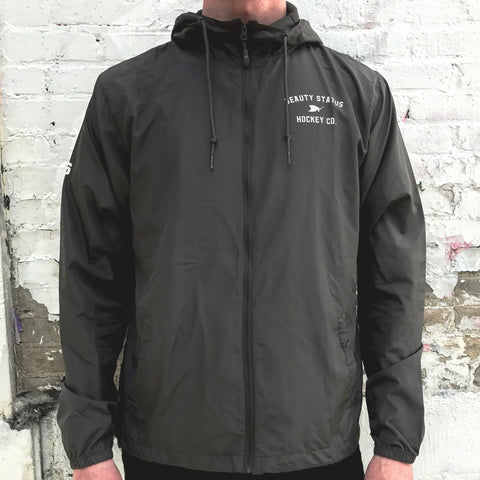 Pre-Game Windbreaker *Water Resistant (Coal)