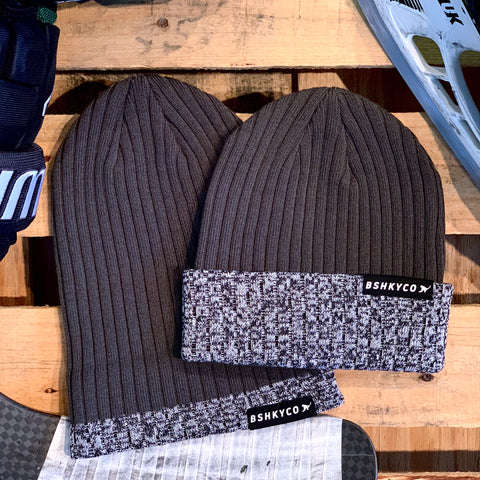 Signature Knit (Charcoal/Puck Mark/Black)