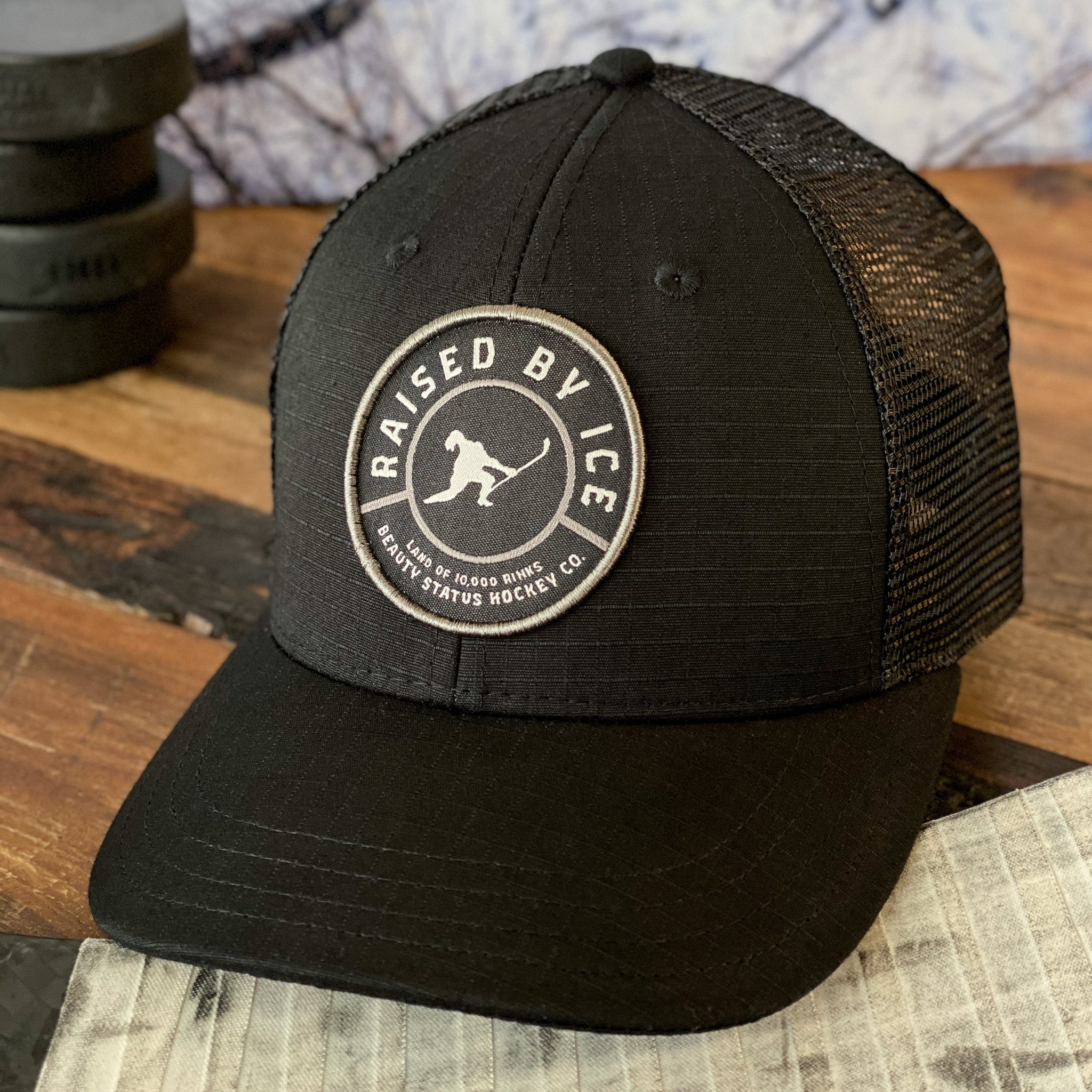 Homage (Black/Skate Blade Steel/Charcoal) - Beauty Status Hockey Co.