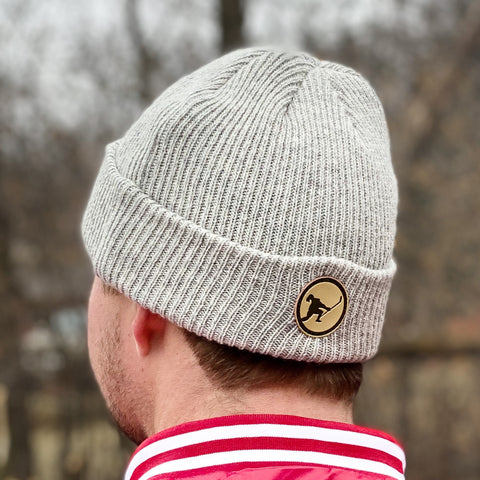 In The Clutch Knit (Skate Blade Steel Heather)