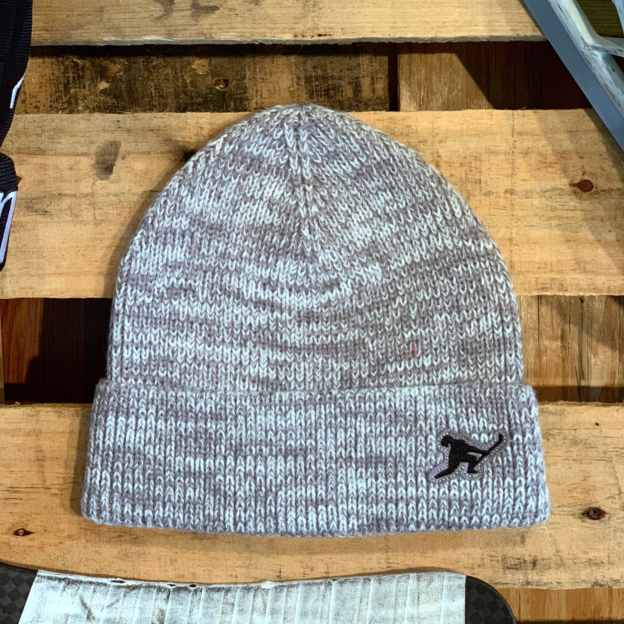 Team Issued Knit (Heather Skate Blade Steel) - Beauty Status Hockey Co.