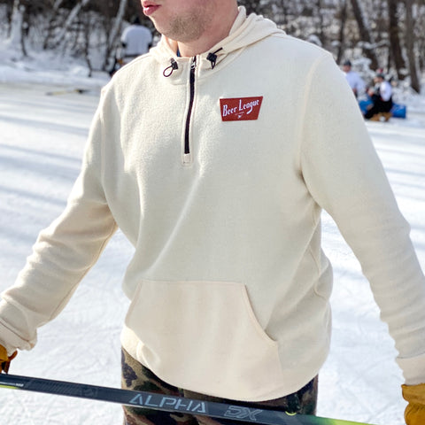 Beer League All-Star *1/4 Zip Nordic Tri-Blend Fleece