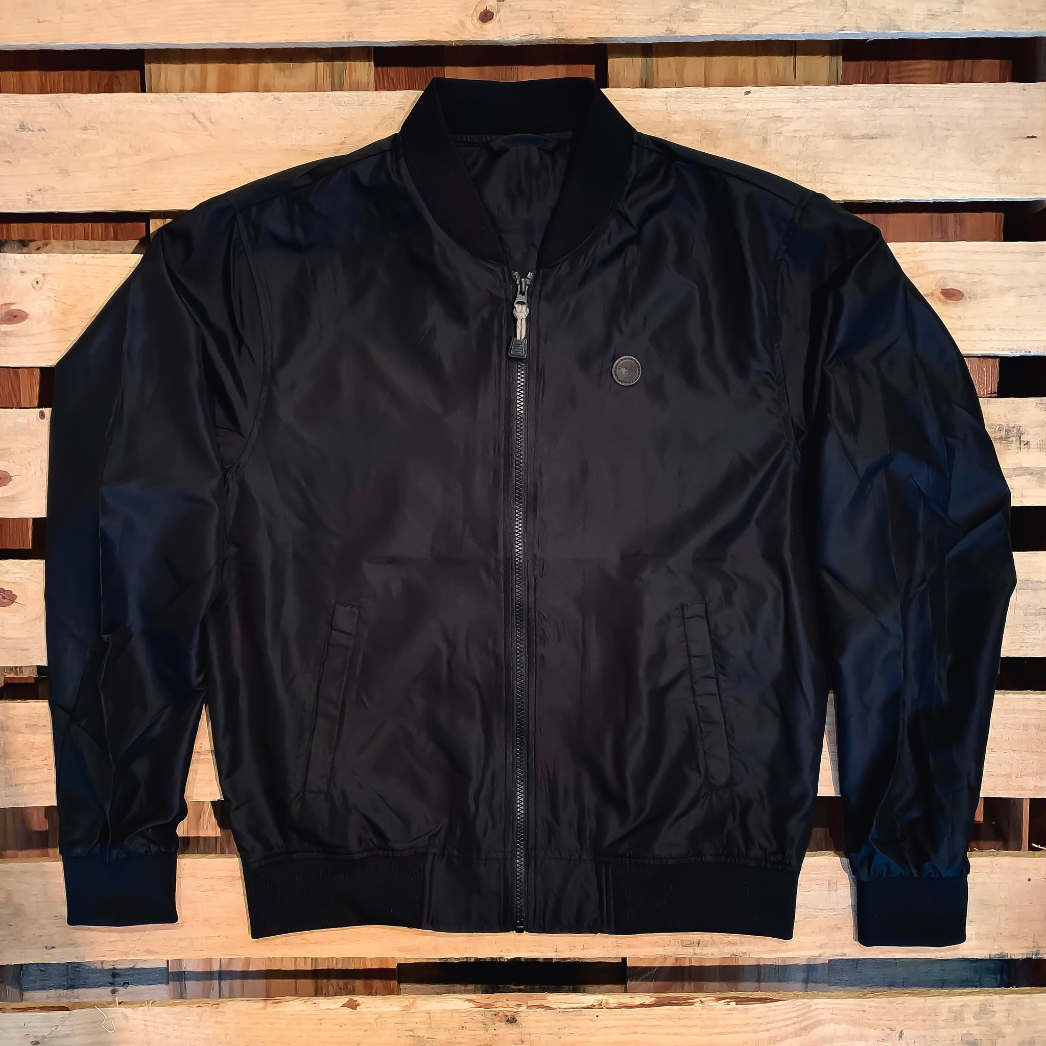In the Clutch *Lightweight Bomber Jacket (Black) - Beauty Status Hockey Co.