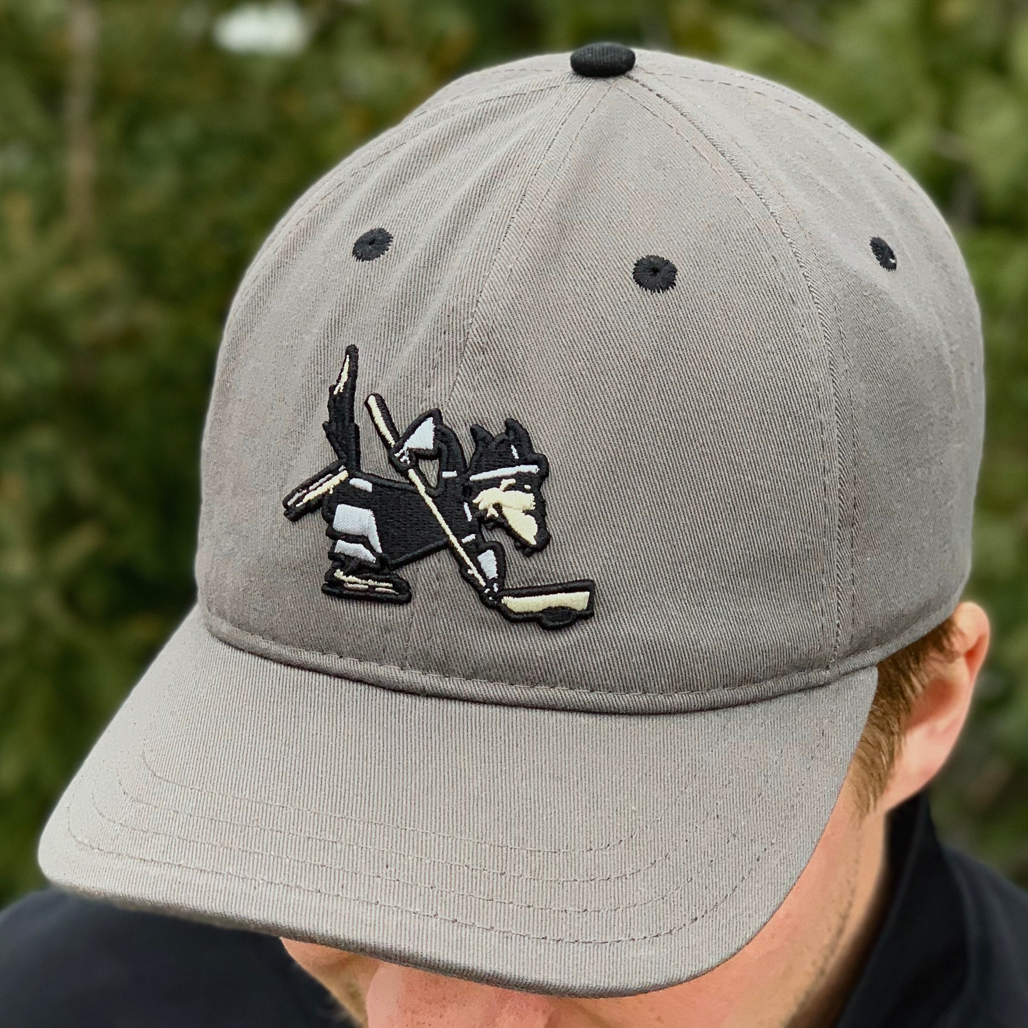 Mascot (Charcoal) - Beauty Status Hockey Co.