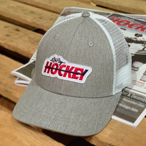 Let's Play Hockey X Beauty Status (Heather Grey/White)
