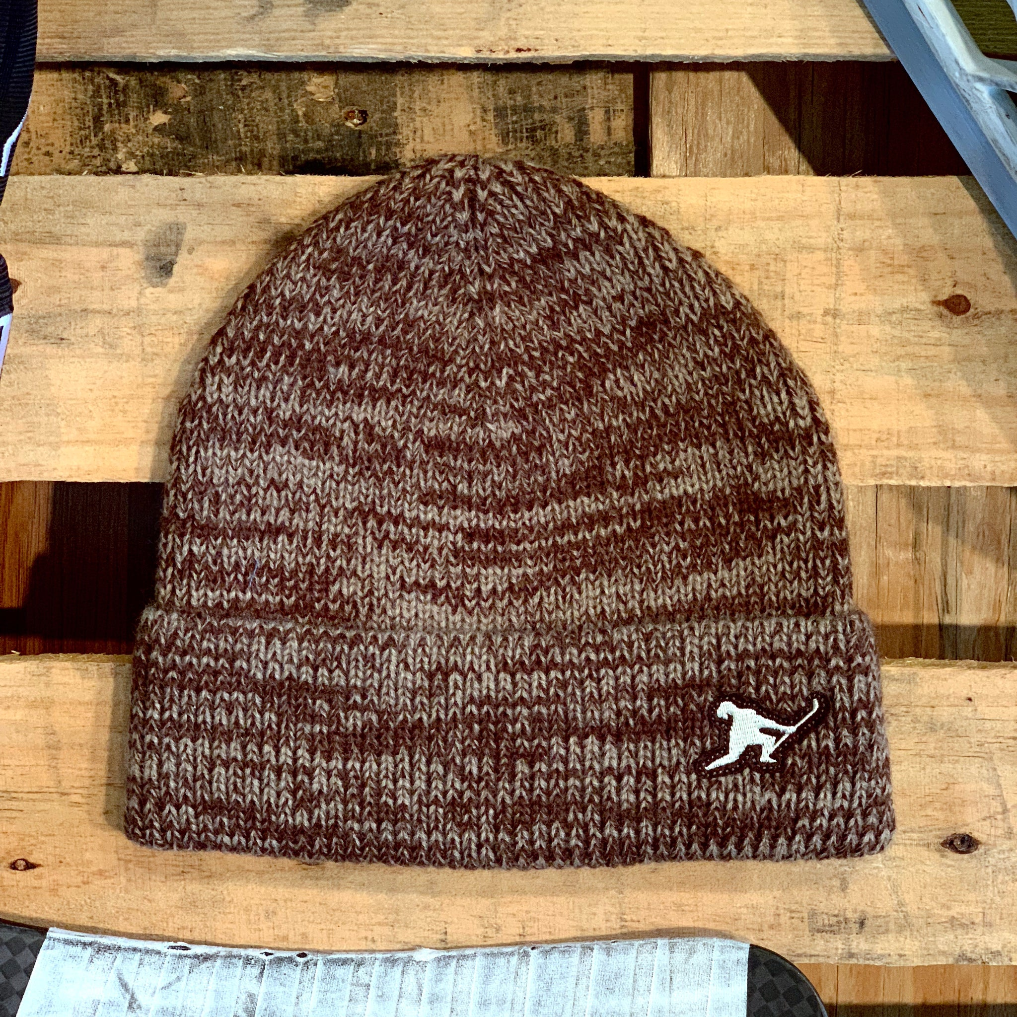 Team Issued Knit (Heather Brown) - Beauty Status Hockey Co.
