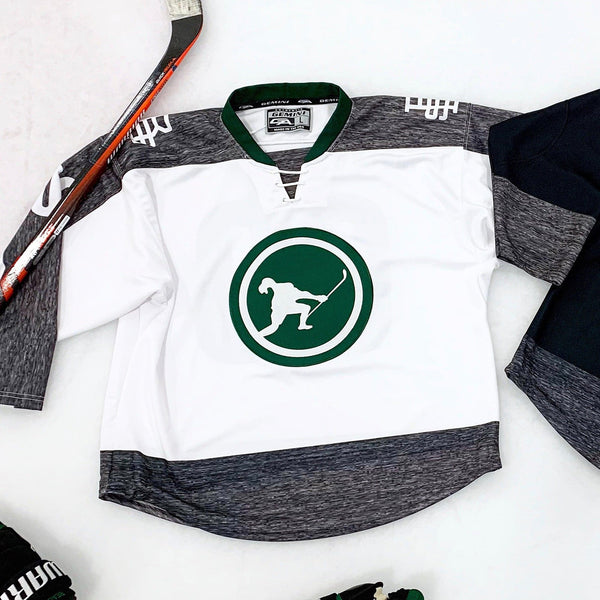 Beauty Status Team Jersey (White) *Limited Edition - Beauty Status Hockey Co.