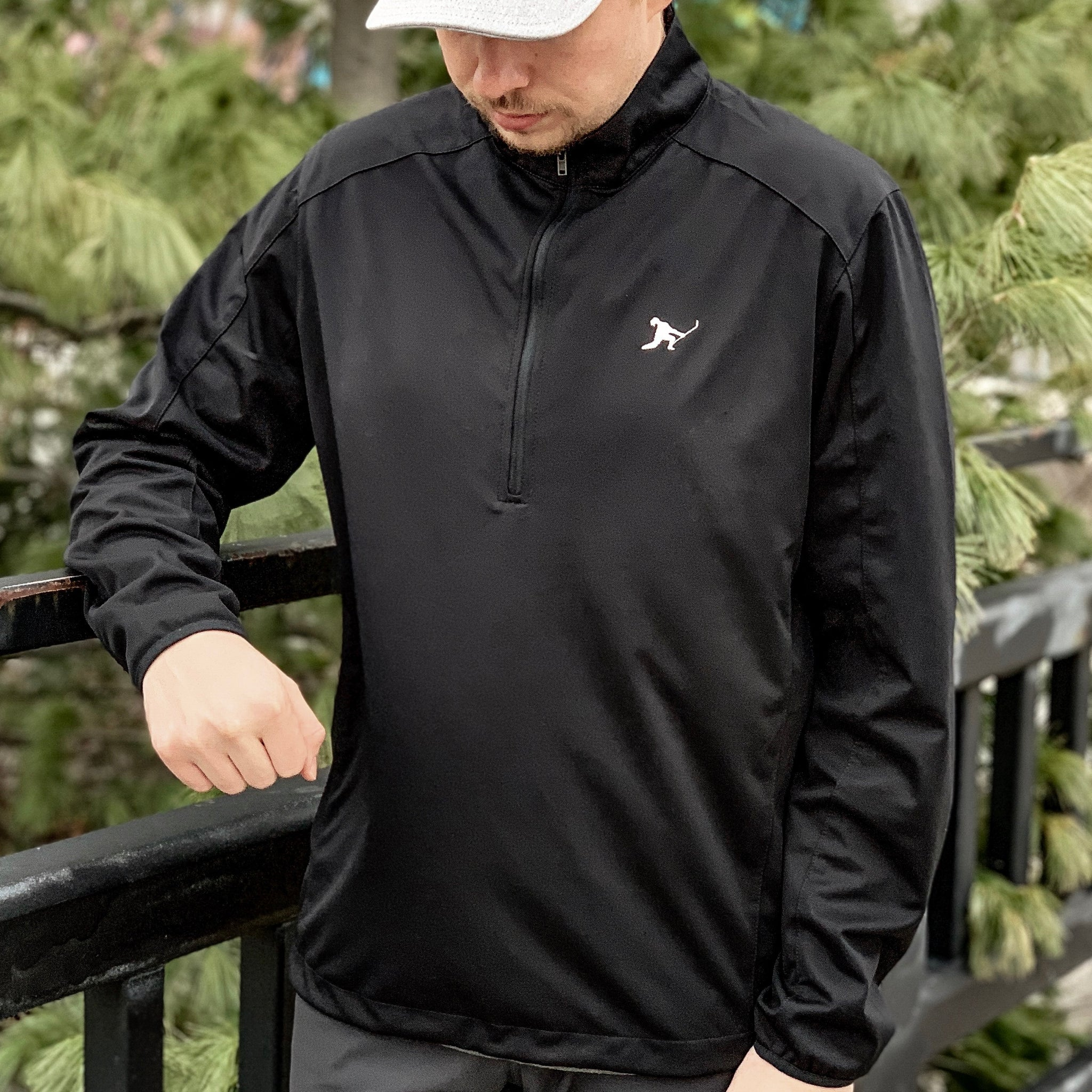 Team Issued *1/2 Zip Soft Shell (Black) - Beauty Status Hockey Co.