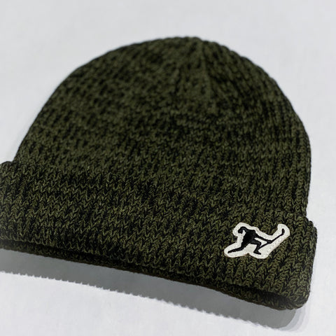 Classic Knit (Dark Olive Heather)