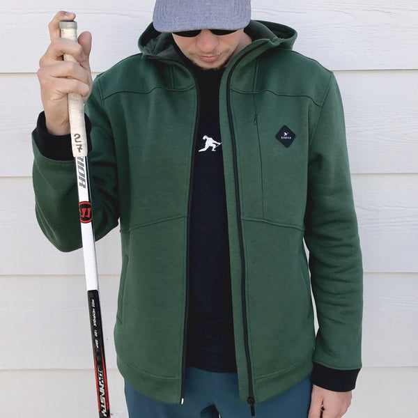 Team First *Technical Fleece (Forest/Black) - Beauty Status Hockey Co.